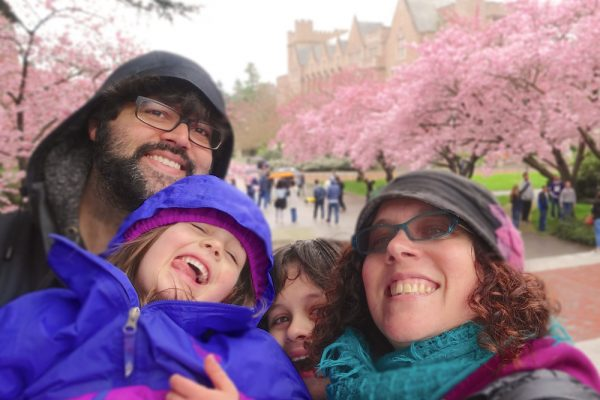 Cherry Blossoms at the University of Washington. http://www.TheSeasonalSoul.com
