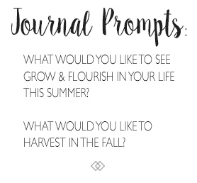 Journal Prompts for Mid-Spring / Beltane / May Day. http://www.TheSeasonalSoul.com