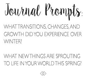 Mid-Spring Seasonal Journal Prompts. http://www.TheSeasonalSoul.com