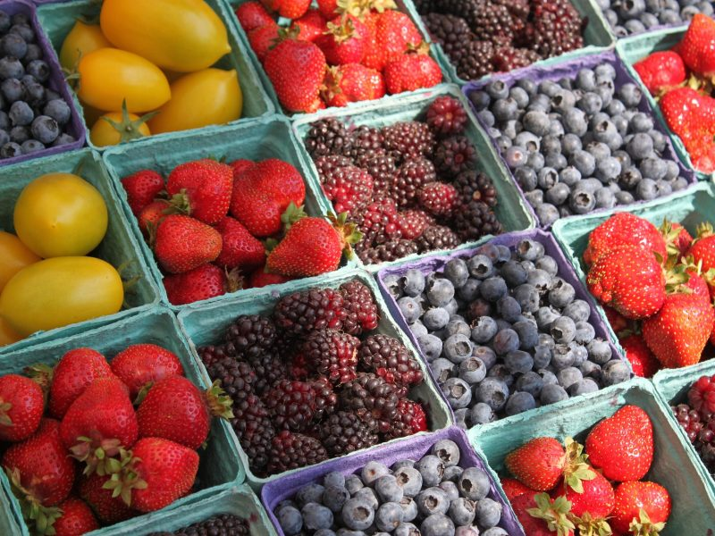 Seasonal Fruits & Vegetables Available in August * Get delicious summer, seasonal recipes at www.TheSeasonalSoul.com