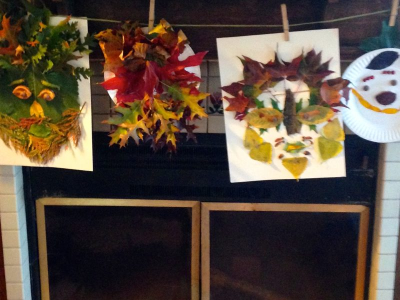 Autumn Craft for Kids, A Family Activity for Mabon & the Autumn Equinox. Find more ways to celebrate the seasons on www.TheSeasonalSoul.com