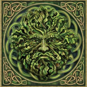 Pagan Green Man - Enjoy this autumn equinox craft with your kids. More info at www.TheSeasonalSoul.com