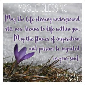 Imbolc Blessing for the Pagan Sabbat Imbolc