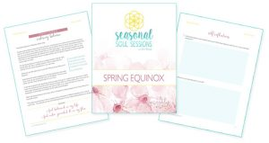 Spring Equinox Ritual & Workbook