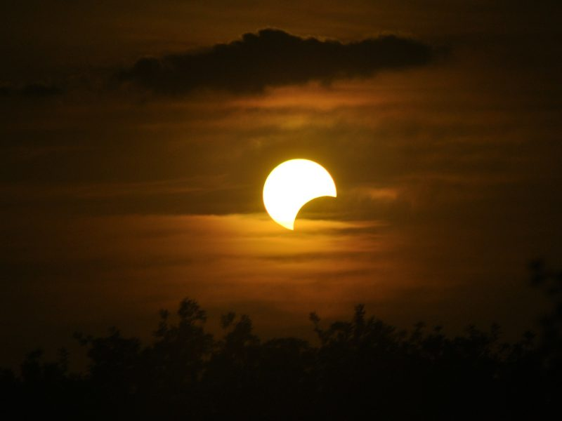 What's the Meaning of the Solar Eclipse?