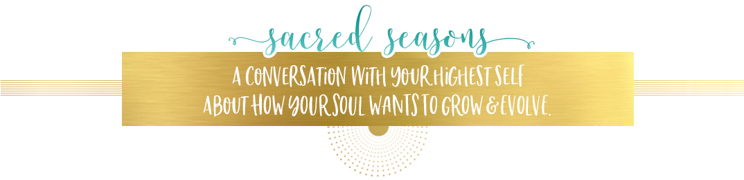A conversation with your highest self about how your soul wants to grow & evolve.