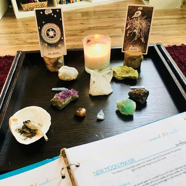 Tarot Spread & Ritual for the New Moon