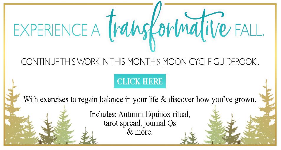 September New Moon Ritual, Journal Prompts, Tarot Spread