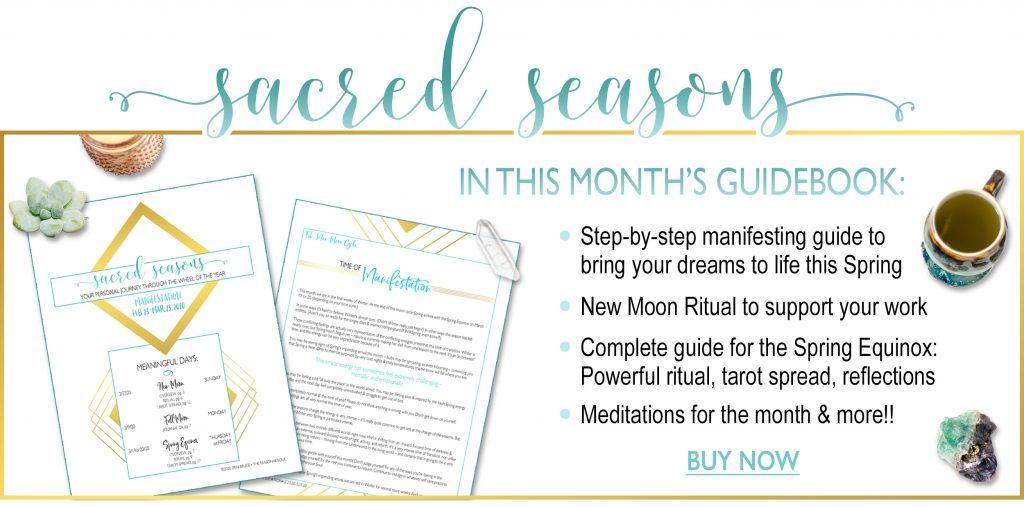 Sacred Seasons March Guidebook