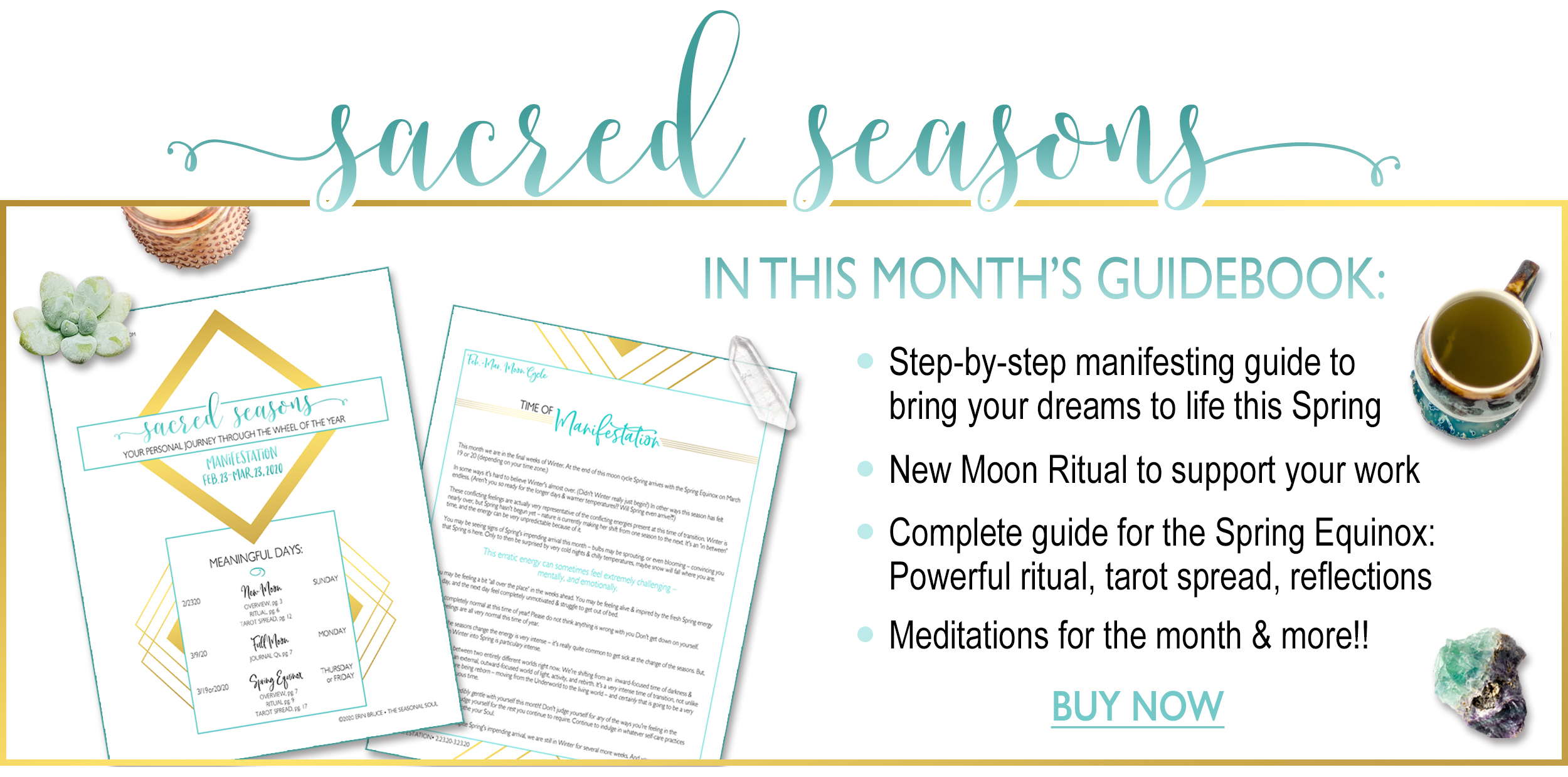 Sacred Seasons March Guidebook